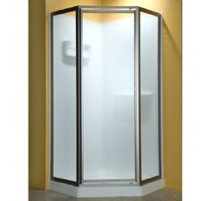 Custom Euro Frameless Neo-Angle Door