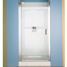 <strong>American Standard</strong> Euro Frameless Hinge Shower Door