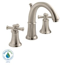Portsmouth 2 Cross Handle Bathroom  Faucet with Speed Connect Drain