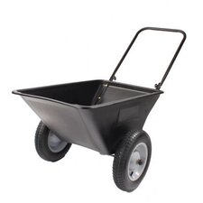 "Lawn Cart with 16"" Pneumatics"