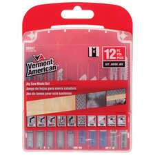 12 Piece Jigsaw Blade Set 30047