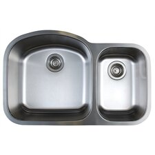 "<strong>Blanco</strong> Stellar 31.75"" x 20.5"" Double Bowl Undermount Kitchen Sink"
