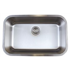"<strong>Blanco</strong> Stellar 28"" x 18"" Super Single Bowl Undermount Kitchen Sink"