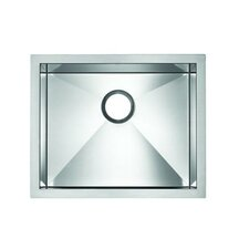 "<strong>Blanco</strong> Precision Microedge 22.5"" x 20"" Single Bowl Kitchen Sink"