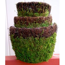 Vineyard Round Pot Planter (Set of 3)
