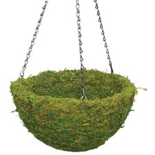 <strong>SuperMoss™</strong> Handcrafted Round Hanging Planter
