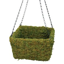 Handcrafted Square Hanging Planter