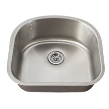"21.25"" x 18.88"" Single Bowl Kitchen Sink"