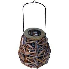 Bell Lantern Driftwood Decor