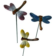 Ceramic Dragonfly Number 1 Figurine