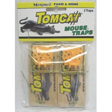 <strong>Tomcat</strong> Wooden Mouse Trap (Set of 2)