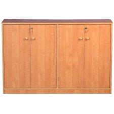 VHZ Entertainment Double Multimedia Storage Cabinet