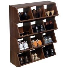 VHZ Storage Stackable 3 Compartment Cubby