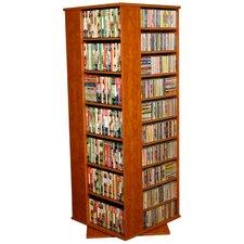 VHZ Entertainment 1600 CD Molded Multimedia Revolving Tower