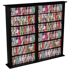 VHZ Entertainment Regular Double Multimedia Storage Rack