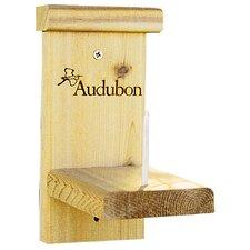 Audubon Corn Holder Squirrel Hanging Bird Feeder / House