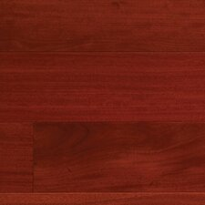 "Elegant Exotic 4-3/4"" Engineered Santos Mahogany Flooring in Natural"