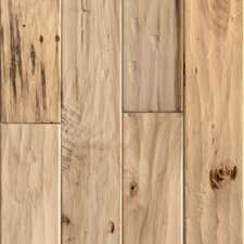 "<strong>Ark Floors</strong> Artistic 5"" Engineered Distressed Hickory Flooring in Natural"