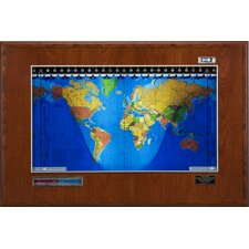 Boardroom Model Geochron World Clock