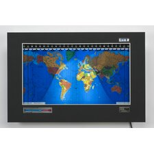 Geochron Original Kilburg World Wall Clock