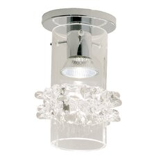 Lace Blown Glass Ceiling Fixture