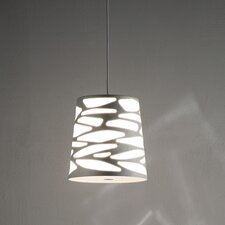 <strong>Studio Italia Design</strong> Grace-So Cone Pendant with Custom Fabric Diffuser