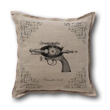 Retro-Futuristic Artifacts Peacemaker Raygun Pillow Cover