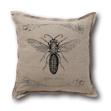 <strong>Museum of Robots</strong> Retro-Futuristic Artifacts Armored Wasp Pillow Cover