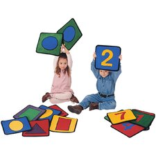 Carpet Kits Shape / Number Block Kids Rugs
