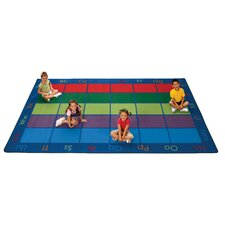 Colorful Seating Places Kids Rug