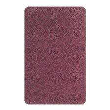 Solid Mt. St. Helens Cranberry Kids Rug