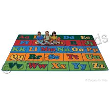 Printed Offset Seating Literacy Kids Rug