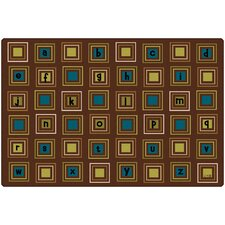 <strong>Carpets for Kids</strong> Literacy Squares Kids Rug
