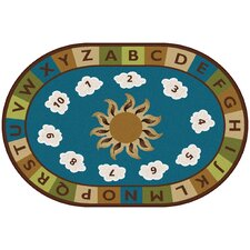 <strong>Carpets for Kids</strong> Sunny Day Learn and Play Kids Rug