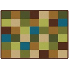 Blocks Seating Kids Rug