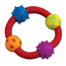 <strong>PetStages</strong> Multi Texture Chew Ring Dog Toy