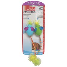 <strong>PetStages</strong> Twice Mice Cat Toy