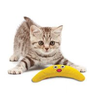 Green Magic Boomerang Buddy Cat Toy