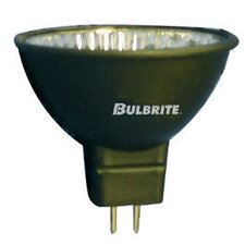 Bi-Pin 50W Black 24-Volt Halogen Light Bulb