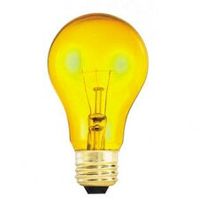 25W Yellow 120-Volt Incandescent Light Bulb (Set of 15)