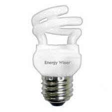 Super Mini 5W 120-Volt (2800K) Compact Fluorescent Light Bulb (Set of 8)