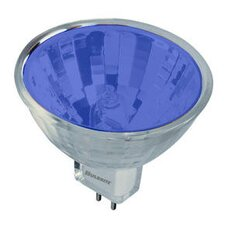 Bi-Pin Blue 12-Volt Halogen Light Bulb