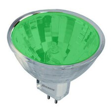 <strong>Bulbrite Industries</strong> 50W Bi-Pin MR16 Halogen Bulb in Green