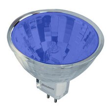 <strong>Bulbrite Industries</strong> 50W Bi-Pin MR16 Halogen Bulb in Blue