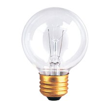 <strong>Bulbrite Industries</strong> G19 Medium Base Globe Light Incandescent Bulb