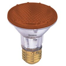 <strong>Bulbrite Industries</strong> 50W PAR20 Halogen Bulb in Amber
