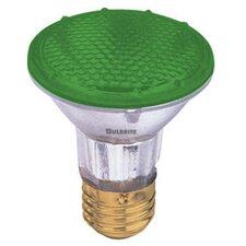 50W PAR20 Halogen Bulb in Green