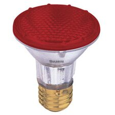 50W Red 120-Volt Halogen Light Bulb (Set of 3)