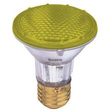 50W PAR20 Halogen Bulb in Yellow