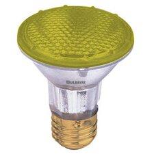 50W Yellow 120-Volt Halogen Light Bulb (Set of 3)